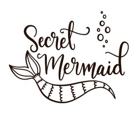 Secret Mermaid Lettering