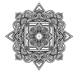 Diamond Mandala No. 3