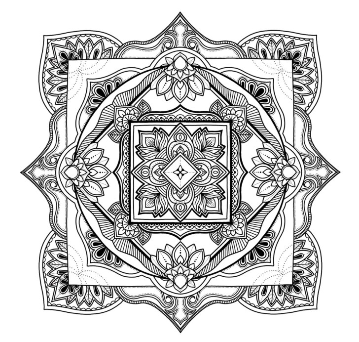 Diamond Mandala No. 1
