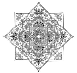 Diamond Mandala No. 2