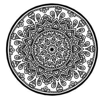 Circle Mandala No. 2