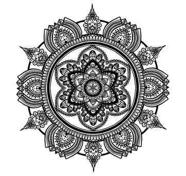 Circle Mandala No. 1