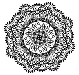 Circle Mandala No. 4