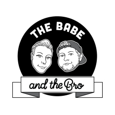 The Babe and The Bro Podcast Logo