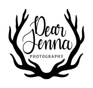 Dear Jenna Photography Logo
