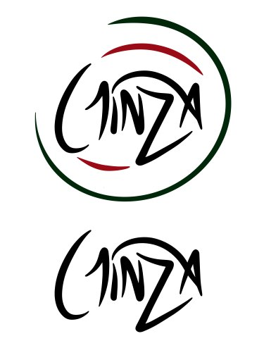 Ginza Town Japanese Restaurant Logo & Variations