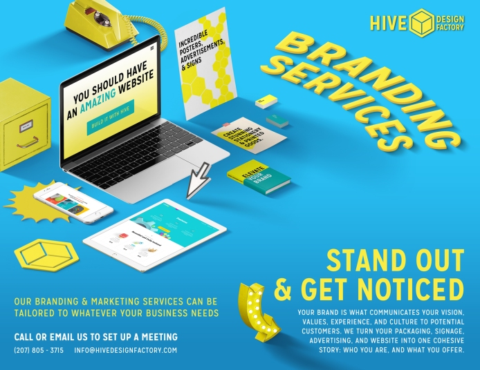 Hive Design Factory Advertisement